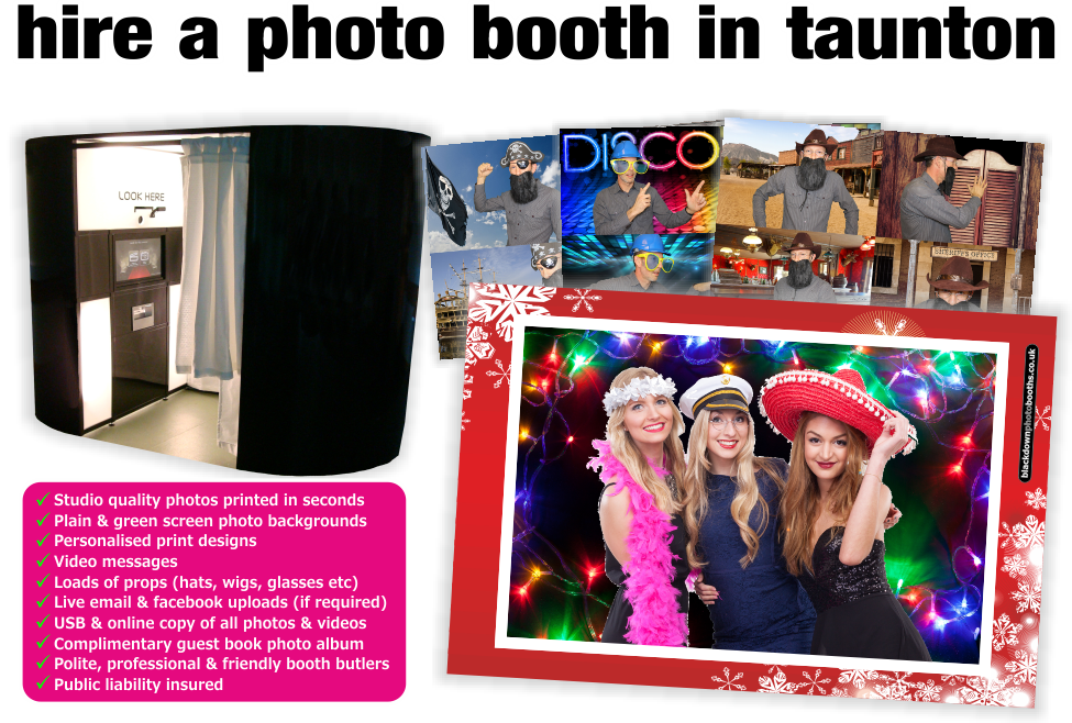Taunton Photobooth & Photo Booth Hire, Taunton, Somerset